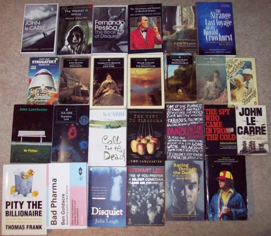 books read in 2012