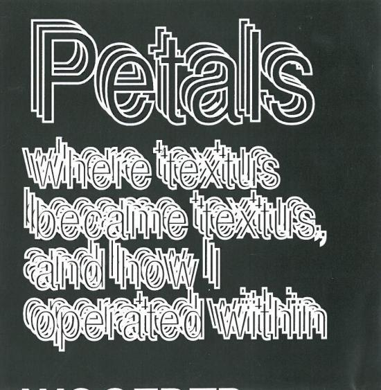 petals - where textus