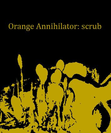 orange annihilator - scrub