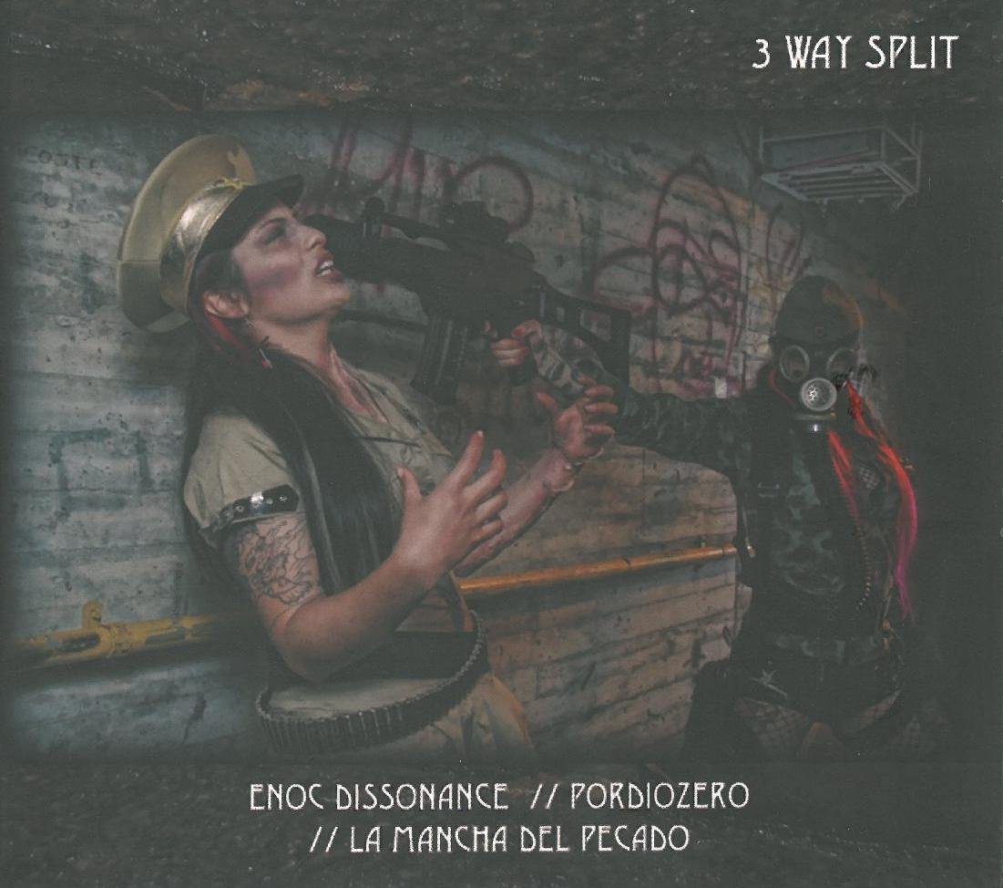 Midwich and The Skull Mask - Split