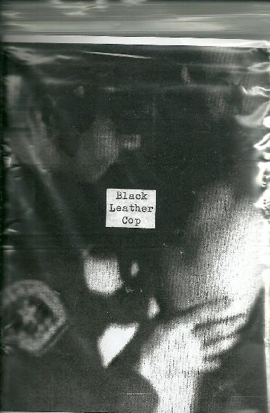 black leather cop - blc