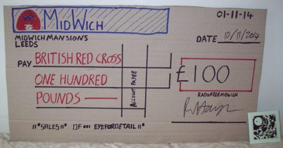 eye for detail cheque