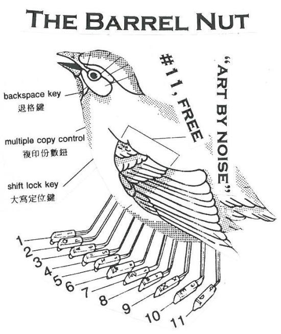 the barrel nut 11 cover