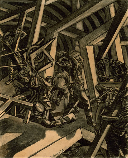 Bomberg,_David_-_Sappers_at_Work_-_Canadian_Tunnelling_Company