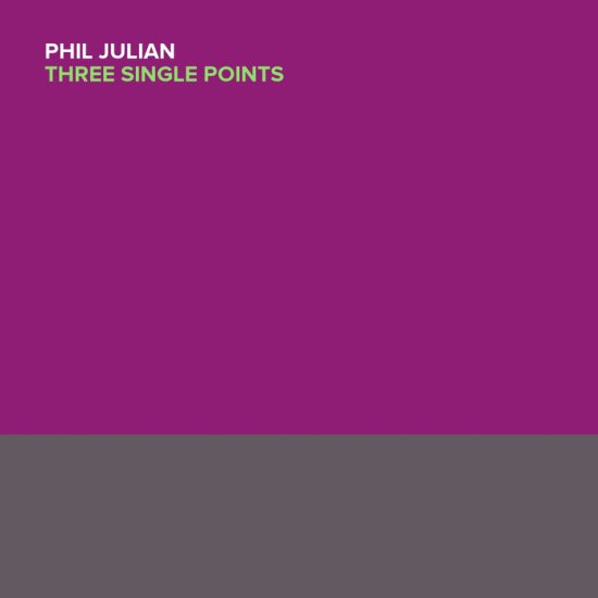 Phil Julina 3 single points